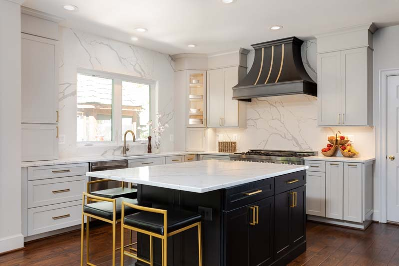 Kitchen remodeling with style